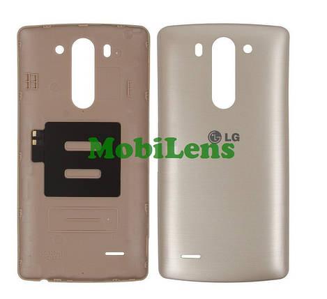 LG D724, D722, D725, D728, LG G3S, LG G3 mini Задня кришка золотиста, фото 2