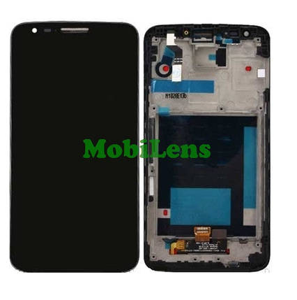 LG D800, 34pin, D801, D803, LS980, VS980, LG G2 Дисплей+тачскрин(модуль) черный *в рамке, фото 2