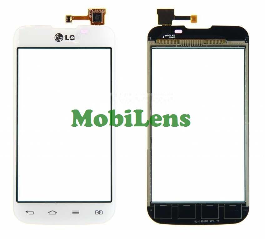 LG E455, Optimus L5 Dual Тачскрин (сенсор) черный