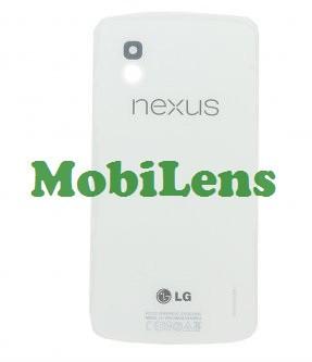 LG E960, Nexus 4 Задня кришка біла