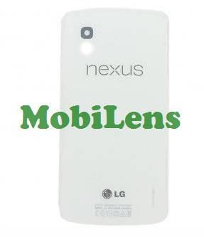LG E960, Nexus 4 Задня кришка біла, фото 2