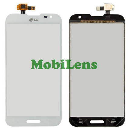 LG E980, E985, E986, E988, F240 Optimus G Pro Тачскрин (сенсор) белый, фото 2