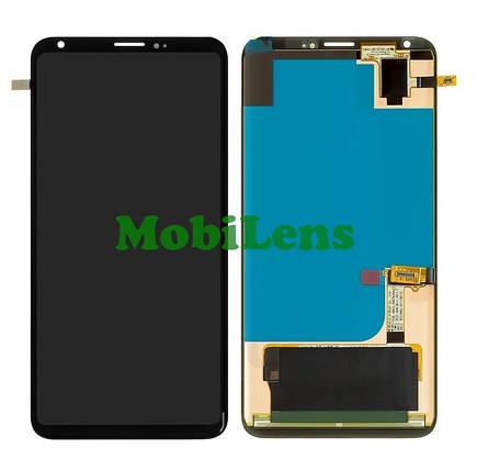 LG H930, LG V30, H930DS, H931, H933, VS996, US998, LS998U Дисплей+тачскрін чорний Original (P-OLED), фото 2