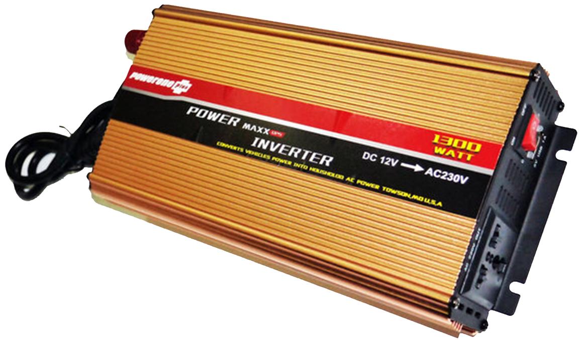 Преобразователь (Инвертор) Powerone 1300W с Зарядкой 12V 220V