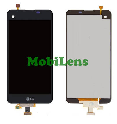 LG K500N, K500DS, X Screen, X View Дисплей+тачскрин(модуль) черный, фото 2