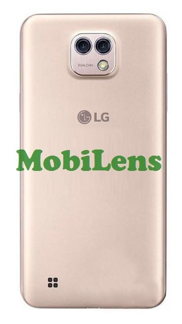 LG K580, X Cam Задня кришка золотиста
