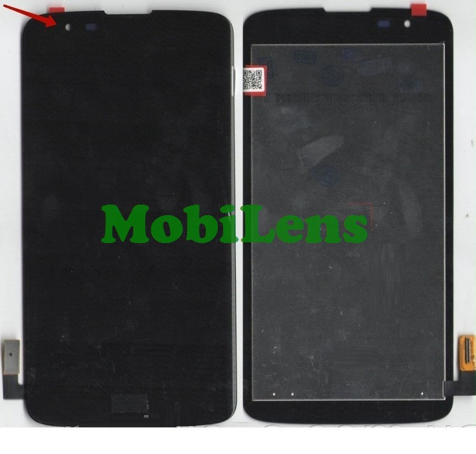 LG MS330, K7 ,LS675, Tribute 5 Дисплей+тачскрин(модуль) черный
