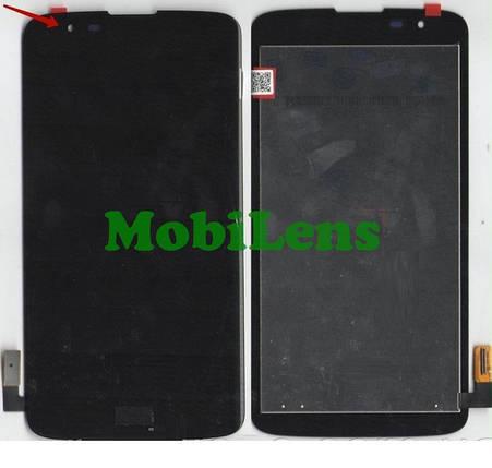 LG MS330, K7 ,LS675, Tribute 5 Дисплей+тачскрин(модуль) черный, фото 2
