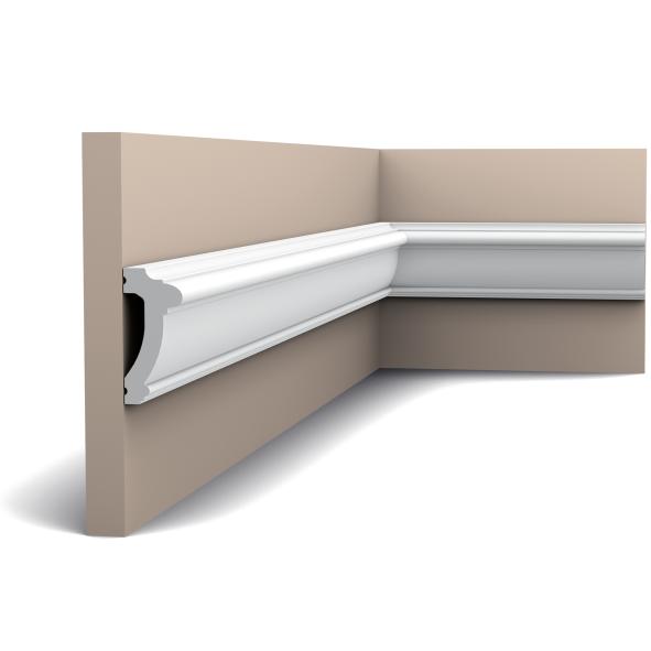 Молдинг для стен, гладкий, Orac Decor Axxen, PX113 лепной декор из дюрополимера