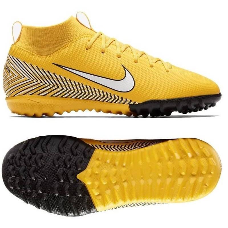 Детские сороконожки Nike Mercurial SuperflyX 6 Academy GS Neymar TF Junior AO2887-710