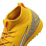 Детские сороконожки Nike Mercurial SuperflyX 6 Academy GS Neymar TF Junior AO2887-710, фото 4