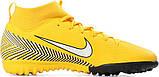 Детские сороконожки Nike Mercurial SuperflyX 6 Academy GS Neymar TF Junior AO2887-710, фото 5