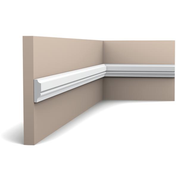 Молдинг для стен, гладкий, Orac Decor Axxen PX116 лепной декор из дюрополимера