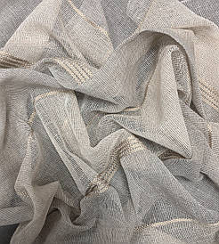 Ткань для гардин, лен полоса, Коллекция 2.