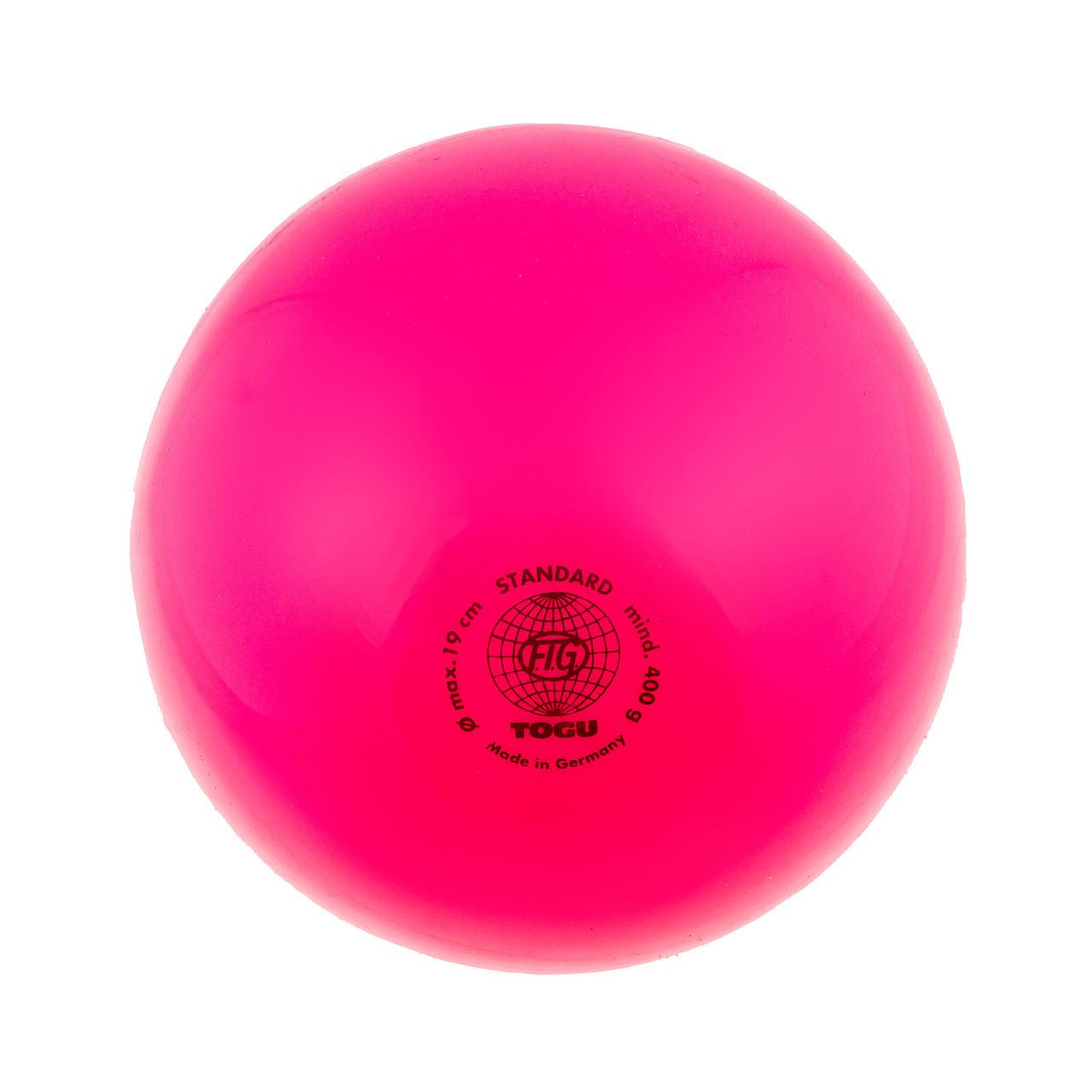 Мяч гимнастический розовый 400гр Togu