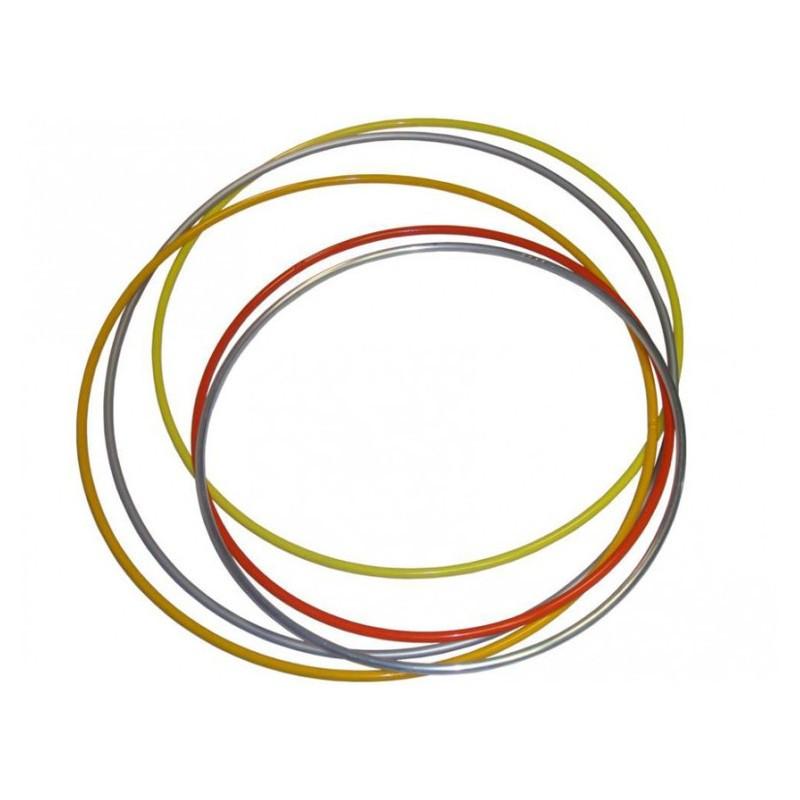 Обруч металлический утяжеленный Украина 900гр (10шт. в упаковке, цена за упаковку!)045812