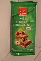 Шоколад Fin Carre с орехами 100гр., Германия