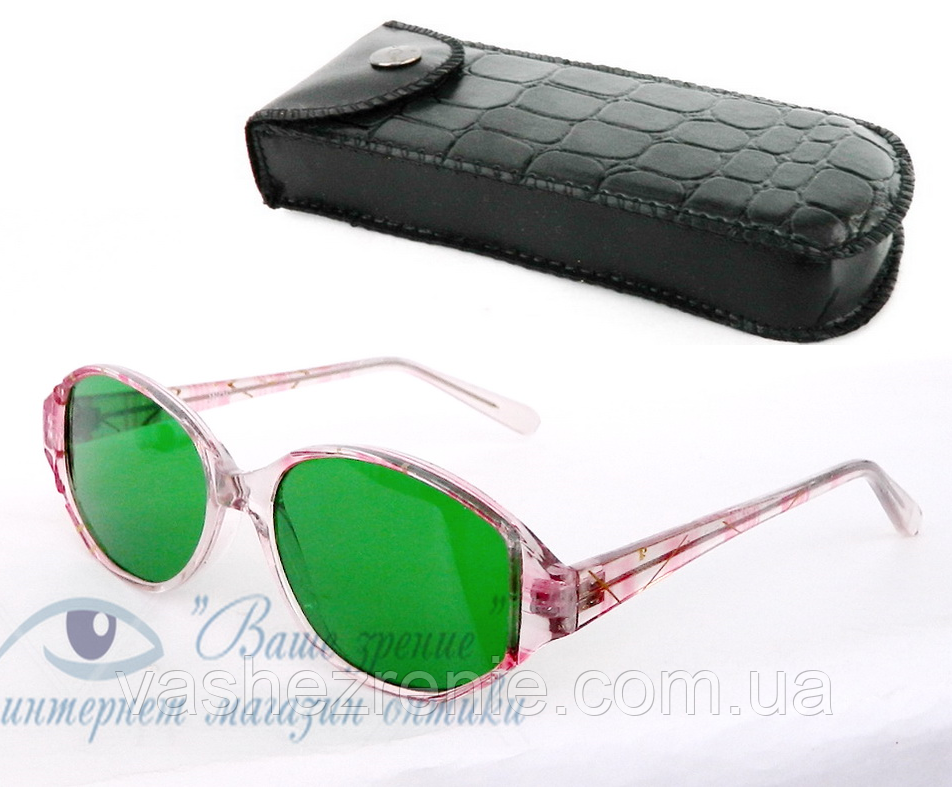 Окуляри глаукомні (СКЛО!), жіночі. Код: 5644