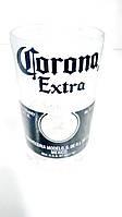 Стакан из пивной стеклянной бутылки Corona