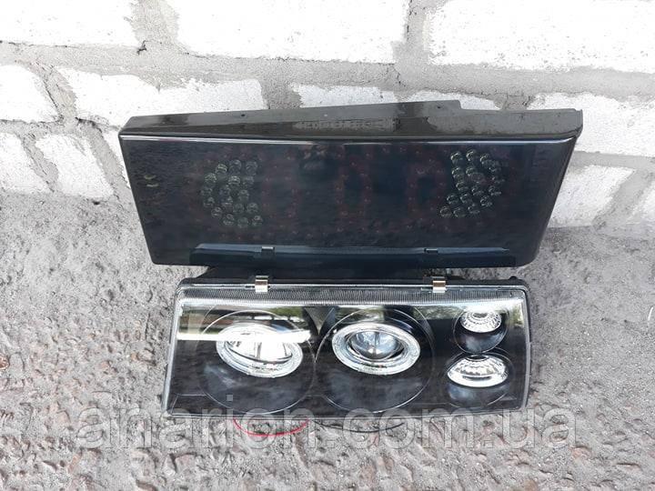 Передние+задние диодные фары на ВАЗ 21099 №25