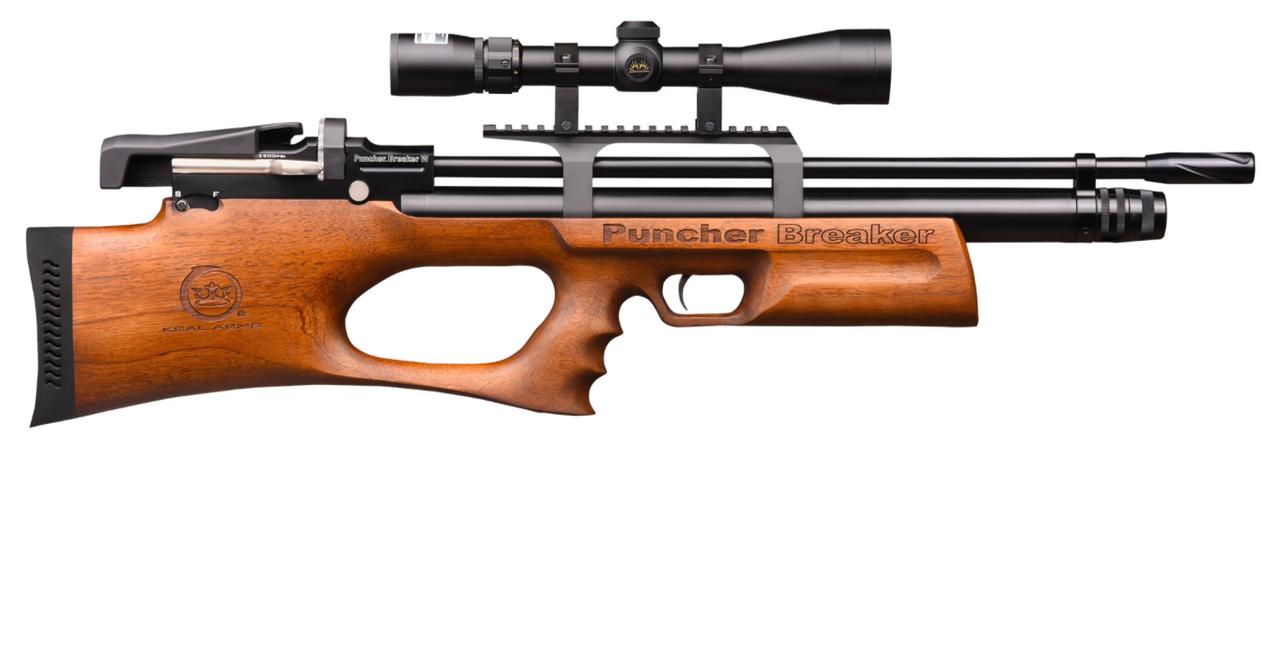 Пневматическая Винтовка Kral Puncher Wood PCP 4.5мм