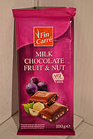 Шоколад Fin Carre Fruit&Nut 100гр., Германия