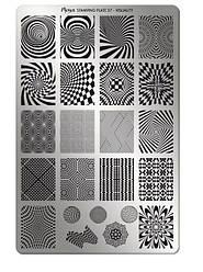 Пластина для стемпинга Moyra №37 Visuality/Візуалізація