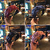 Обруч для волос с узелком красный , ободок чалма тюрбан объёмный, фото 2