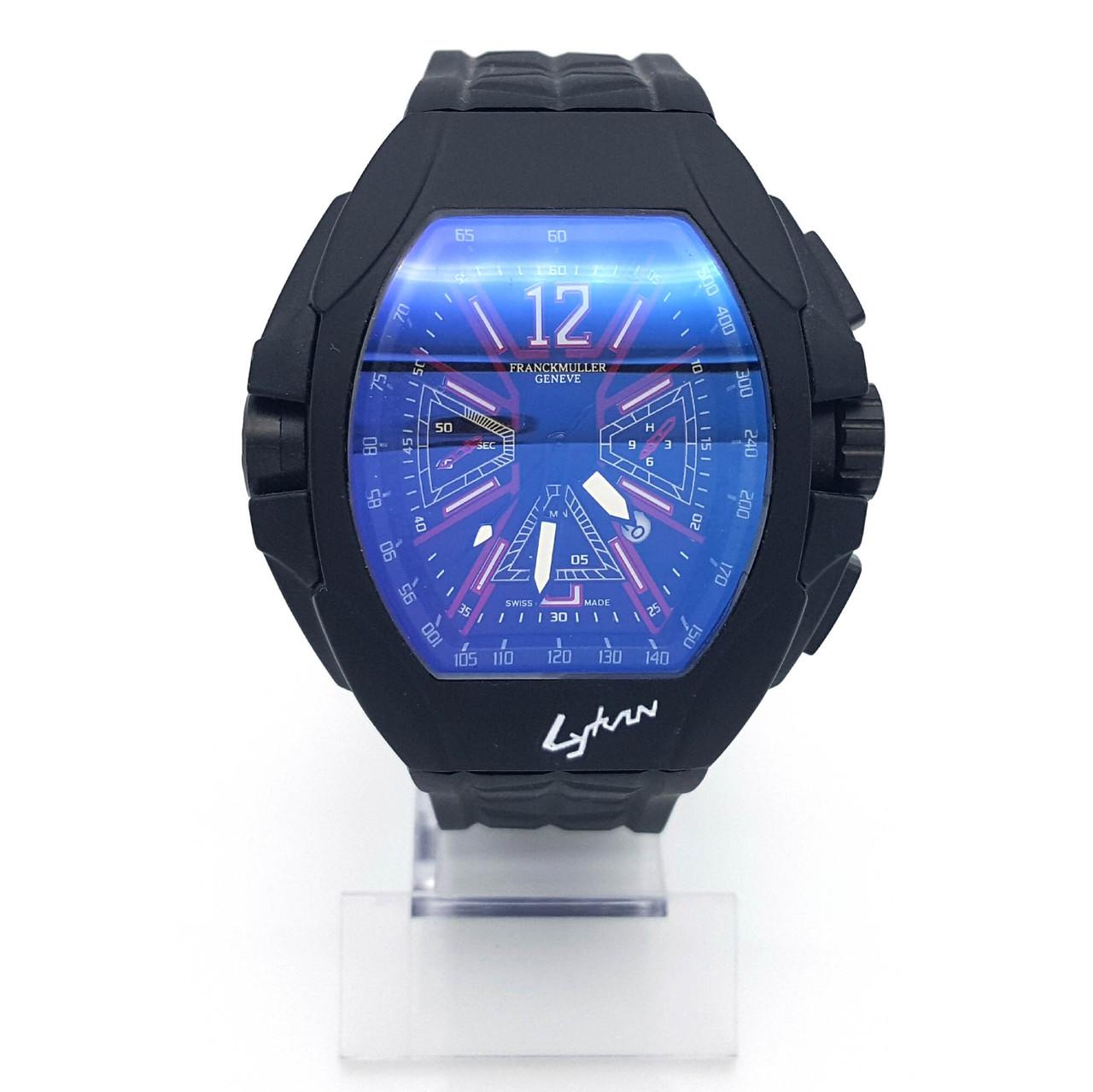 Часы на силиконовом ремешке, длина 18-23см, циферблат 55*58мм