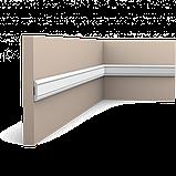 Молдинг для стін, гладкий, Orac Decor Axxen, PX144F ліпний декор з дюрополімер, фото 3