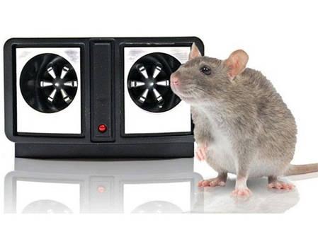 Ультразвуковий відлякувач гризунів, Dual Sonic Pest Repeller, ультразвуковий відлякувач мишей і щурів, фото 2