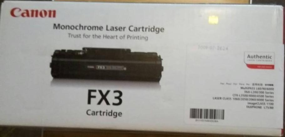 Картриджи canon fx-3 оригинал Multipass L60,Multipass L90