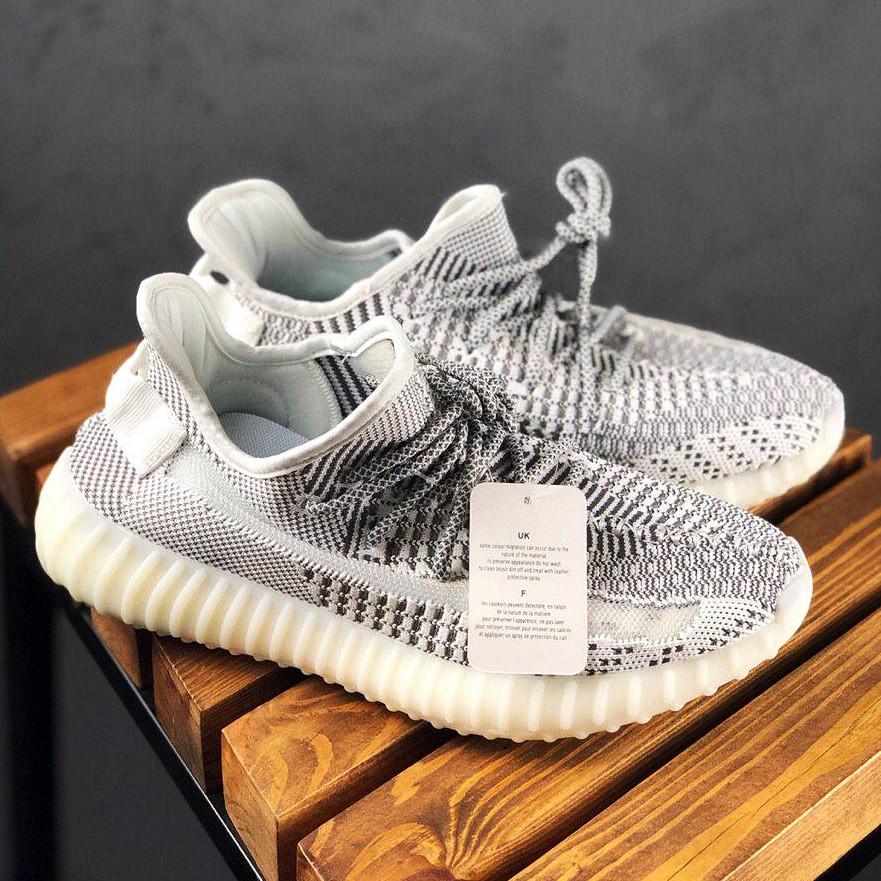 Чоловічі кросівки в стилі Adidas Yeezy Boost 350 v2 Static Reflective