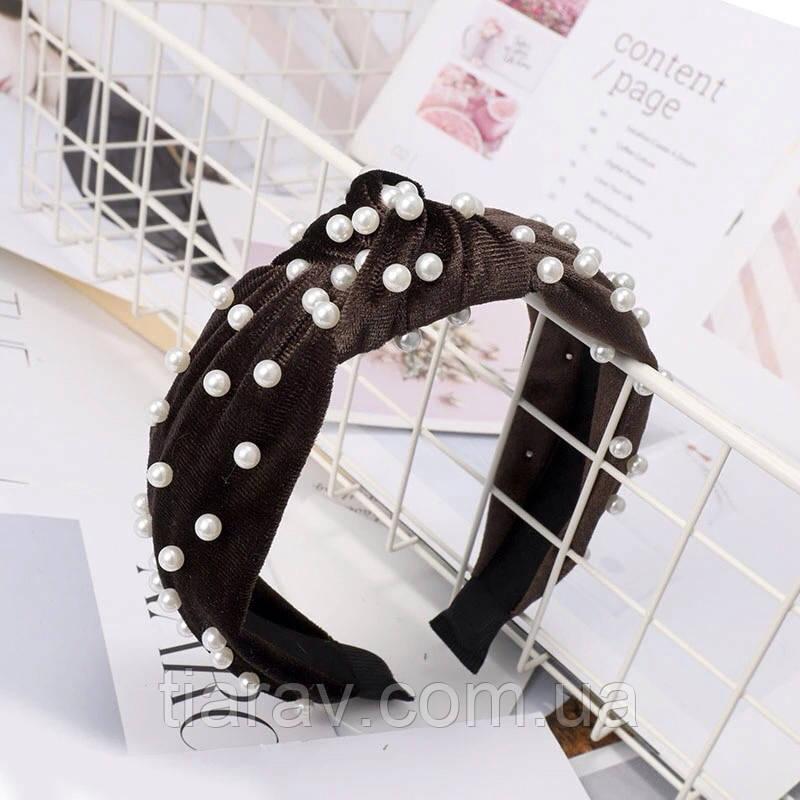 Обруч для волос чалма ободок модные украшения для волос