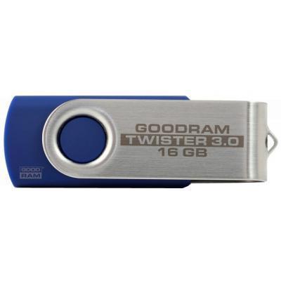 Флеш пам'ять GoodRam Twister 16 GB Blue USB 2.0 (UTS2-0160B0R11)
