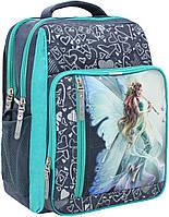 Рюкзак школьный Bagland Школьник 8л (321 серый 90 д)