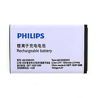Аккумулятор Philips X216 AB1050EWM, 1050 mAh Оригинал