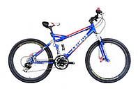 """Горный двухподвесный велосипед azimut Race 26"""" GD"""