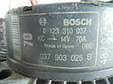 Генератор AUDI SKODA VOLKSWAGEN Bosch 0123310037 14V 70A, фото 4
