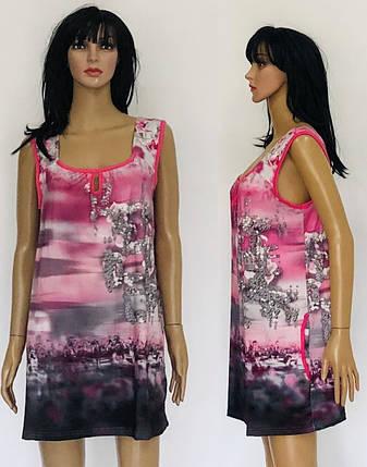 Блуза женская с карманами, фото 2