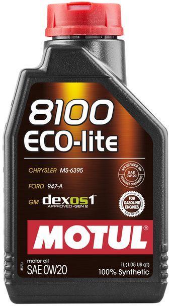 Масло моторное 100% синтетическое д/авто MOTUL ECO-LITE SAE 0W20 (1L)