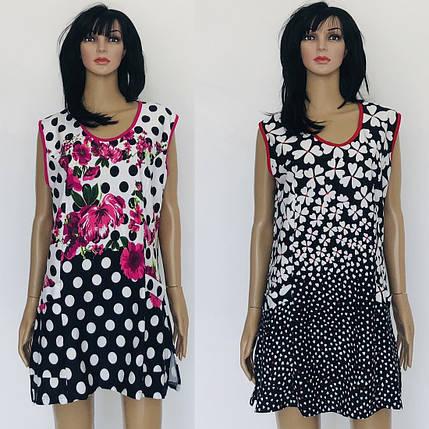 Блуза женская без рукава, фото 2