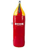 Мешок боксерский Шлемовидный ПВХ h-95см 16 кг BOXER красный 1006-01