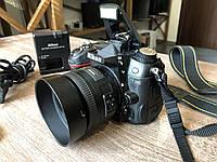 Дзеркальний фотоапарат Nikon D7000 + Nikkor 35mm f/1.8G, фото 1