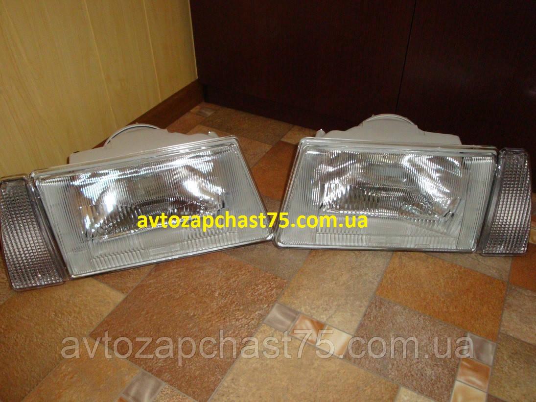 Фары ваз 2108, 2109, 21099 комплект 2 штуки , с белым поворот, производитель Россия, Формула света, г. Клинцы