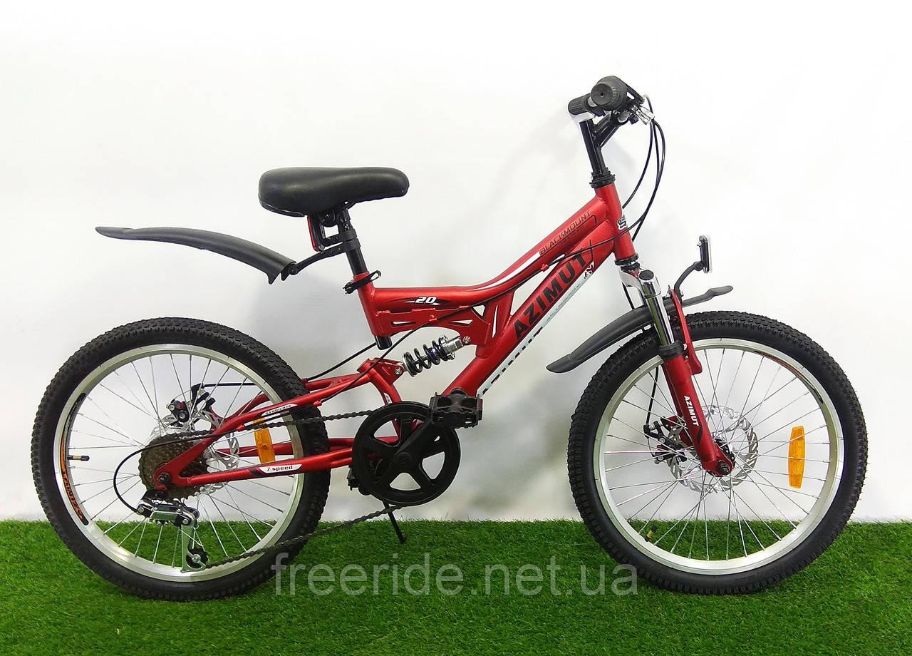 Детский Велосипед Azimut Blackmount 20 GD