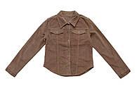 Пиджак женский вельветовый Crown Jeans модель 414 (KDF VZN)
