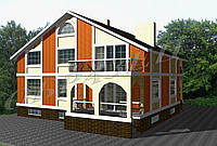 Готовый проект жилого дома К27