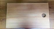 Доска прямоугольная из дерева Бук 355х220 мм. Досточка прямокутна для нарізки, фото 2