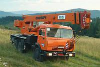 Аренда автокранов 10 16 25 50 тонн в Запорожье
